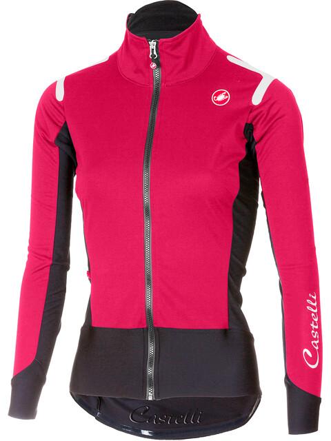 Castelli Alpha Ros Light Jacket Women electric/magenta/black